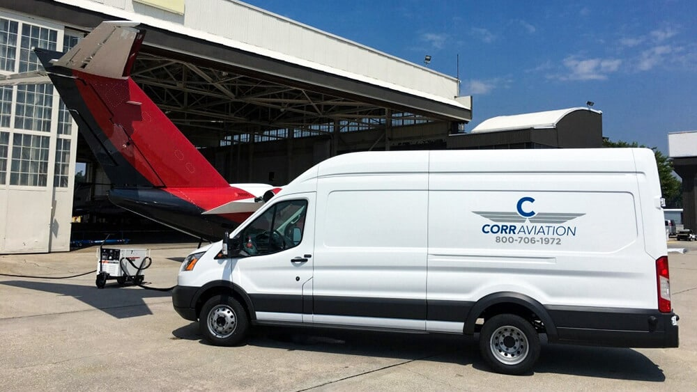 CORR AVIATION Van & Aircraft